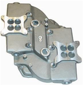"""440 Aluminum Max-Wedge Intake Manifold (""""As Cast"""" Port)"" RMWACRIM-14"